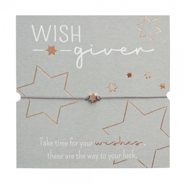 Bracelet - Wish giver - Star - Rose Gold Plated