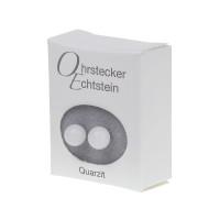 Ohrstecker - Echtstein - Quarzit