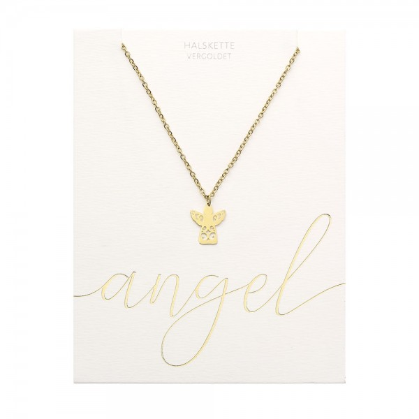 Necklace - Gold Plated - Angel