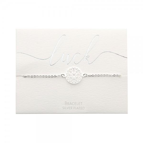Bracelet - Silver-Plated - Mandala Of Luck