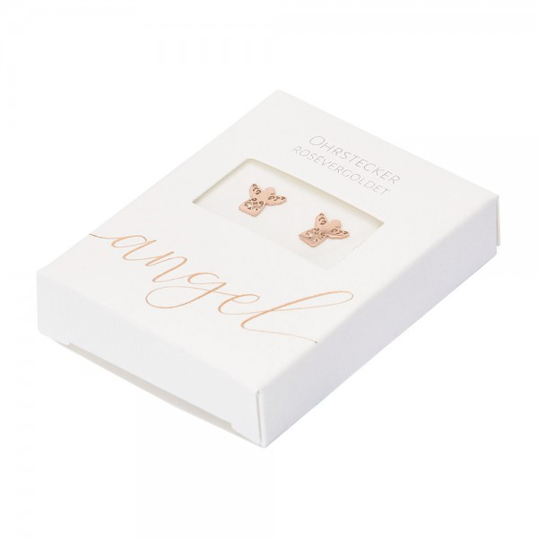 Studs - Rose Gold Plated - Angel