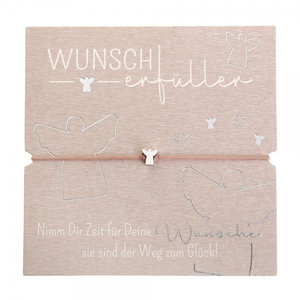 Armband - Wunscherfüller - Schutzengel - feinversilbert