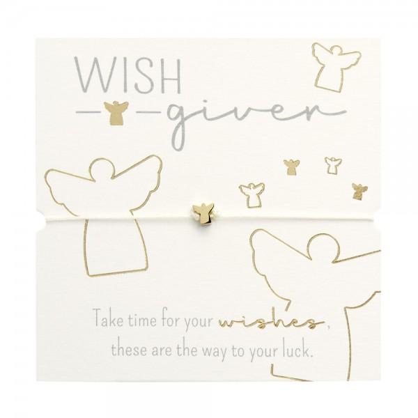 Bracelet - Wish giver - Angel - Gold Plated