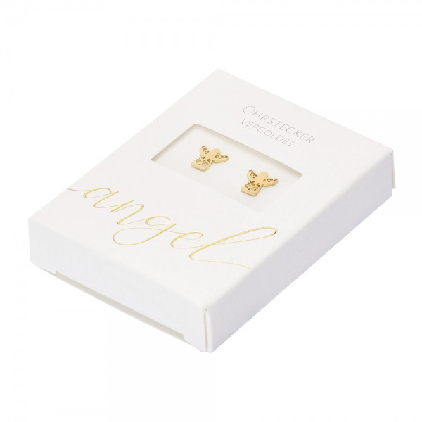 Studs - Gold Plated - Angel