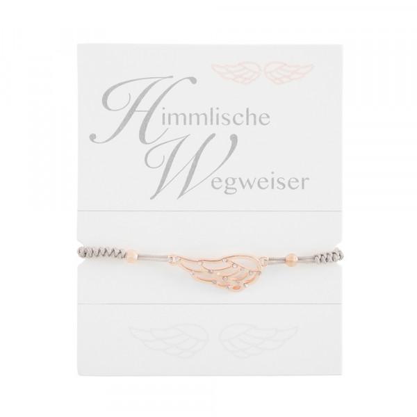 """Geknüpftes Armband """"Engelsflügel"""""""