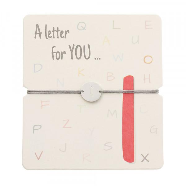Bracelet With Letter - I