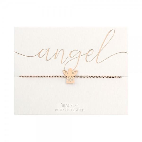 Bracelet - Rosegold-Plated - Angel