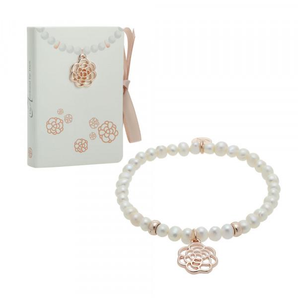 "Pearl Bracelet ""Rose"""