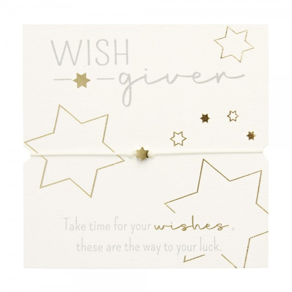 Bracelet - Wish giver - Star - Gold Plated