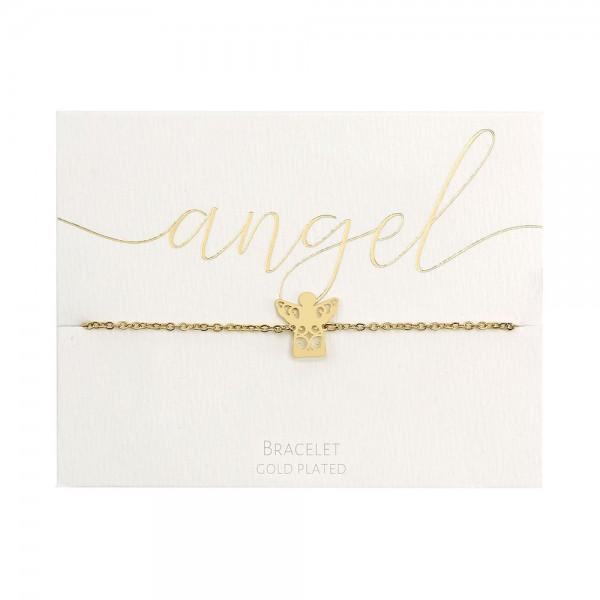 Bracelet - Gold-Plated - Angel
