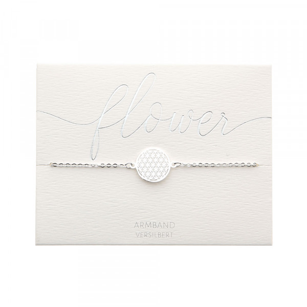 Bracelet - Silver Plated - Flower Of Life