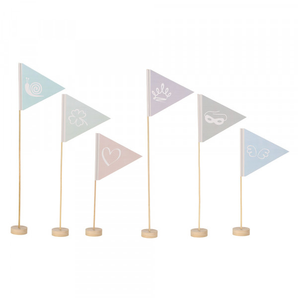 6 Different Flags