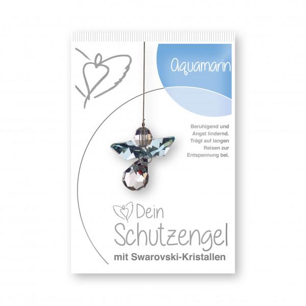 "Schutzengel ""Aquamarin""- im Blister"