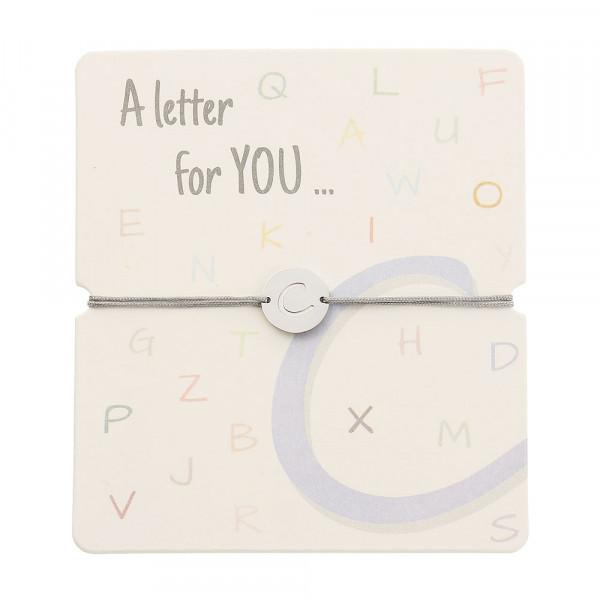 Armband mit Buchstaben - C