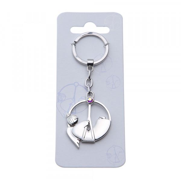 Schlüsselanhänger - Schaukelnder Schutzengel