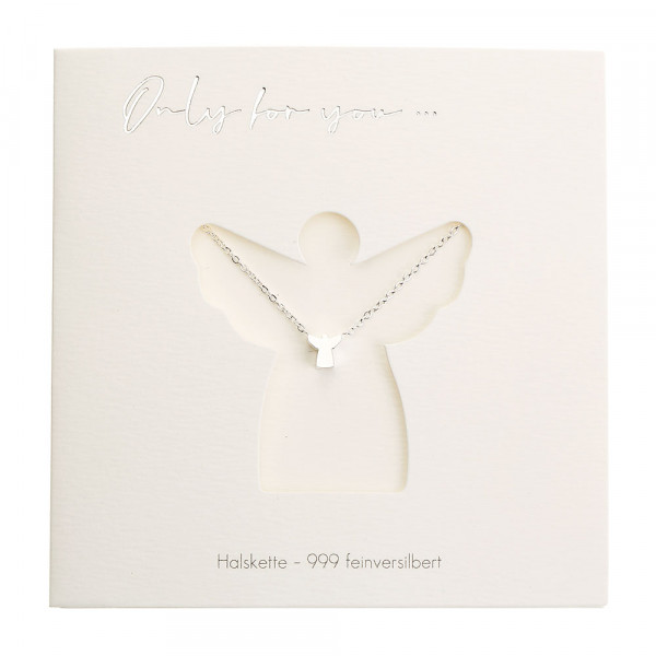 Necklace - Only For You - Angel - Silver-Plated