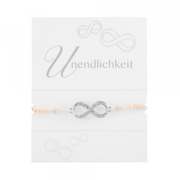 """Geknüpftes Armband """"Unendlichkeit"""""""