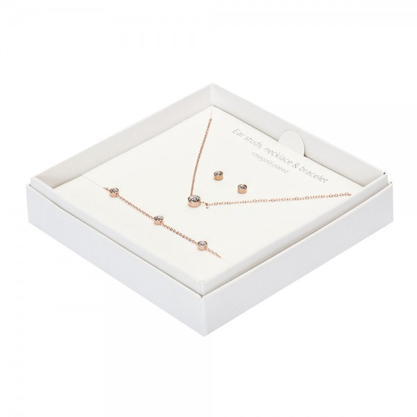 Gift Box - Sparkle - Rose Gold Plated - Crystal
