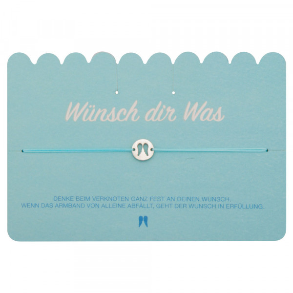 "Wunscharmband ""Engelsflügel"""