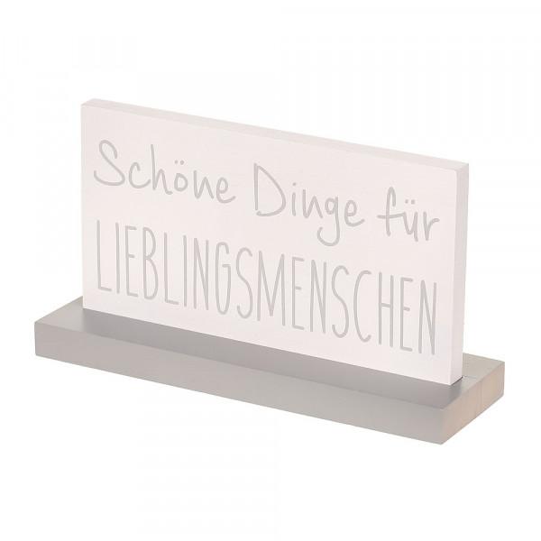 Wooden Sign - Pos Lieblingsmenschen