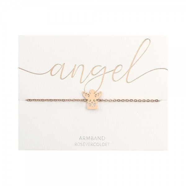 Bracelet - Rose Gold Plated - Angel