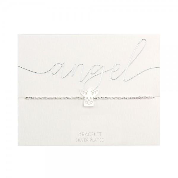 Bracelet - Silver-Plated - Angel