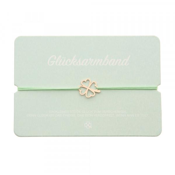 Lucky Bracelet With Symbol - Cloverleaf