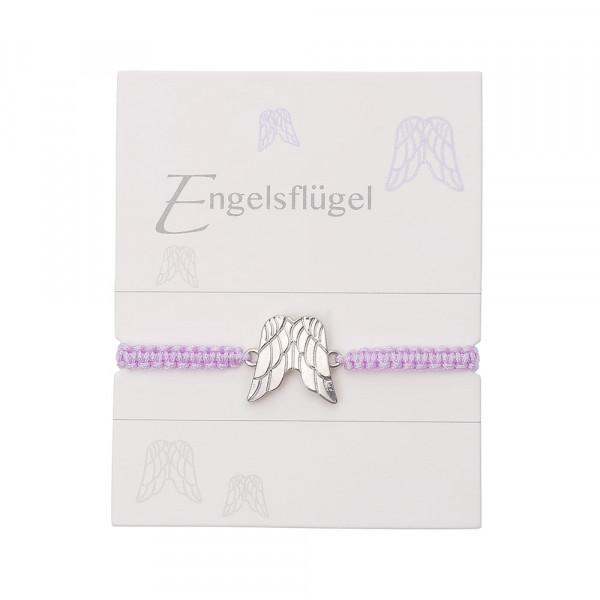 """Geknüpftes Armband """"Doppelter Engelsflügel"""""""