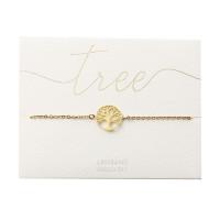 Armband - vergoldet - Baum des Lebens