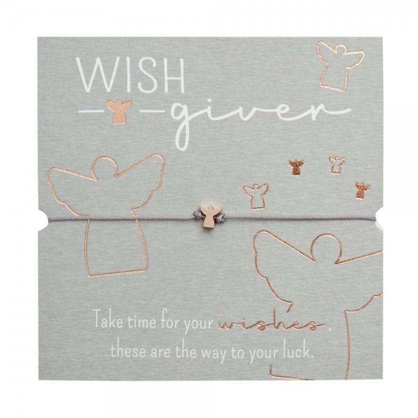 Bracelet - Wish giver - Angel - Rose Gold Plated