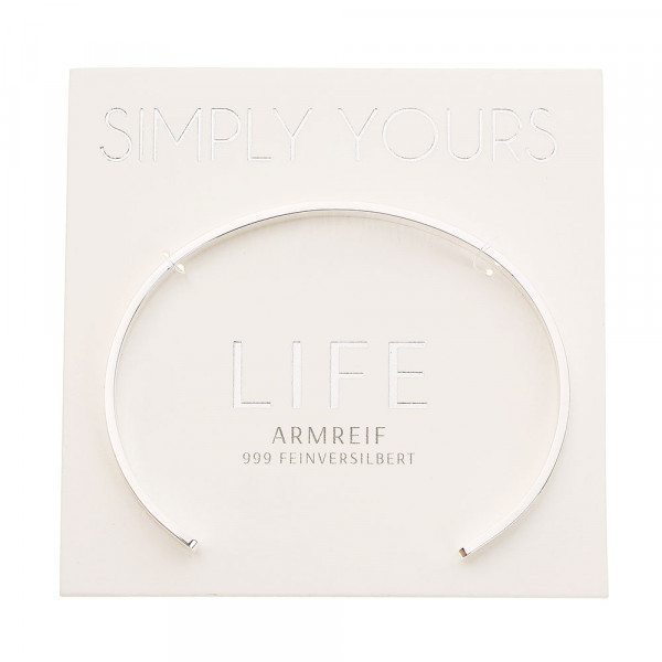 Bangle - Simply Yours - Silver-Plated - Life