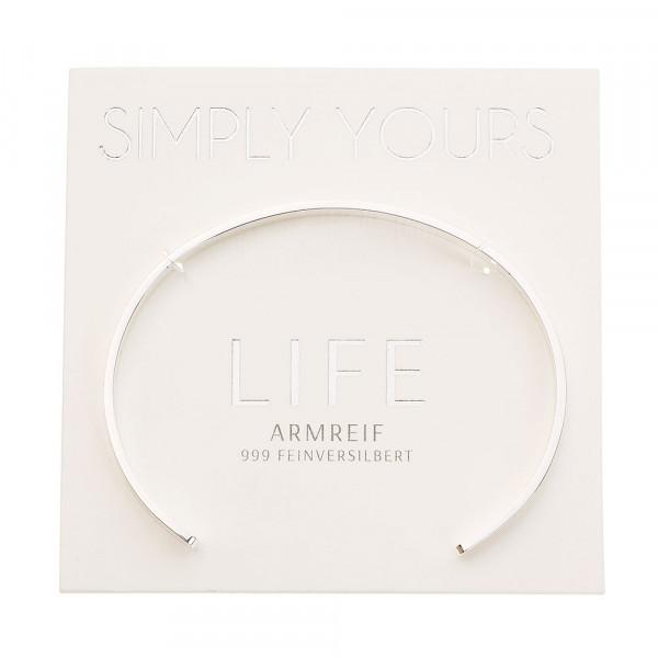 Armreif - Simply yours - feinversilbert - Life
