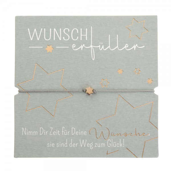 Bracelet - Wunscherfüller - Star - Rose Gold Plated