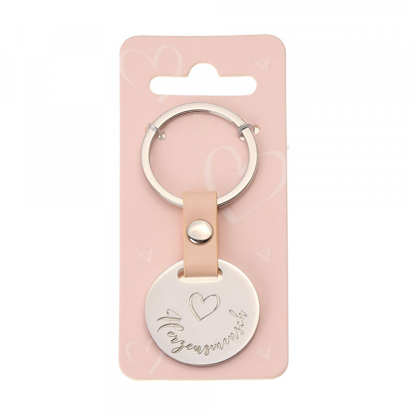 Schlüsselanhänger kurz - Herzensmensch