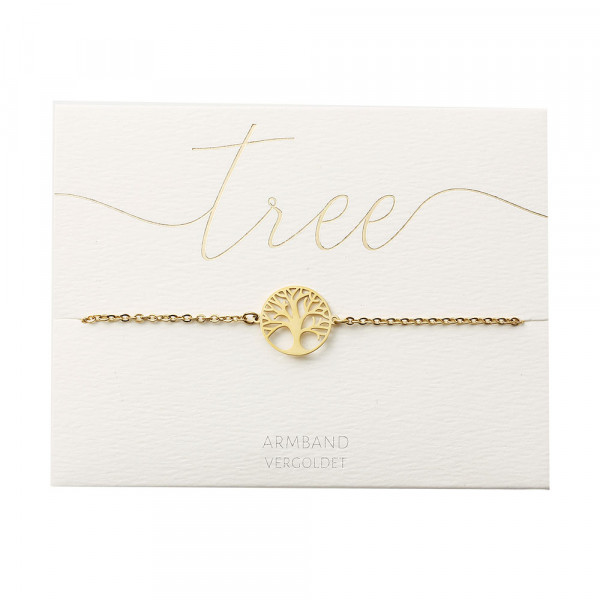 Bracelet - Gold Plated - Tree Of Life