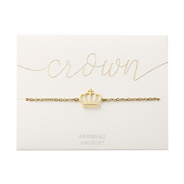 Bracelet - Gold Plated - Crown