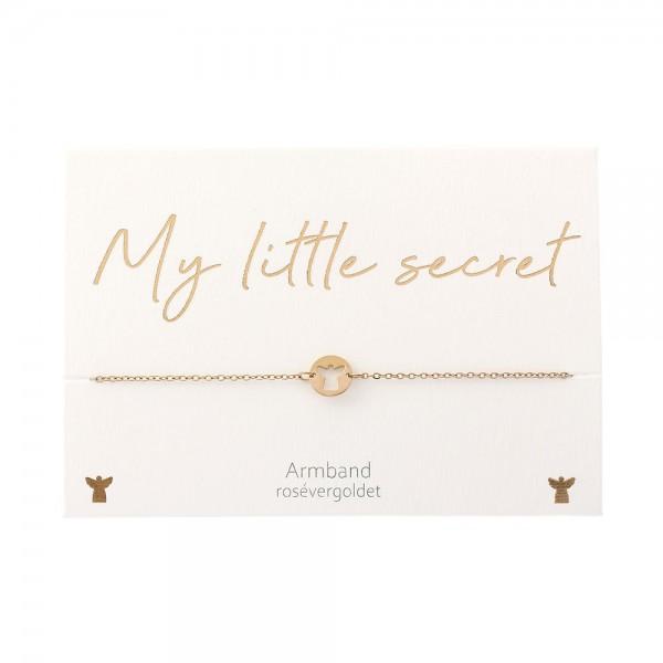 Bracelet - My little secret - Rose Gold Plated - Guardian Angel