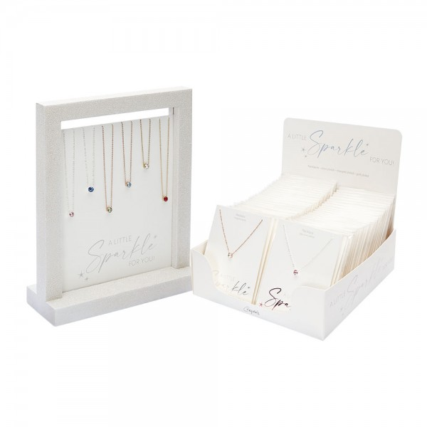 """Display Package Necklaces """"Sparkle"""""""