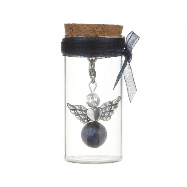 Engel im Glas - Blauer Sodalith