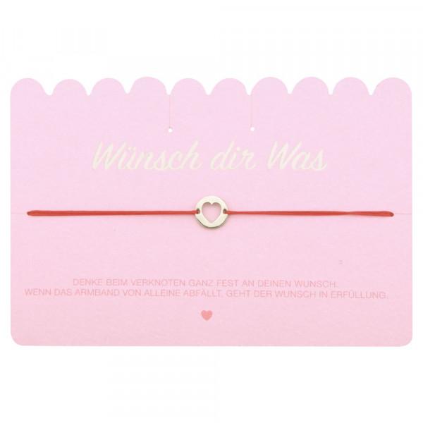 """Wish Bracelet """"Heart"""""""