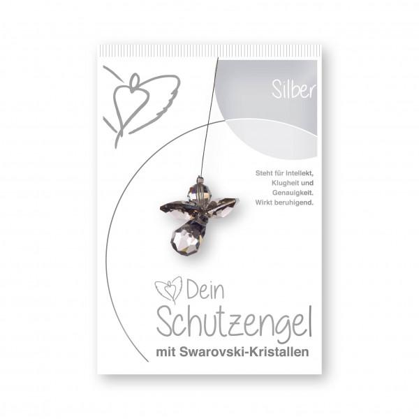"""Schutzengel """"Silber""""- im Blister"""