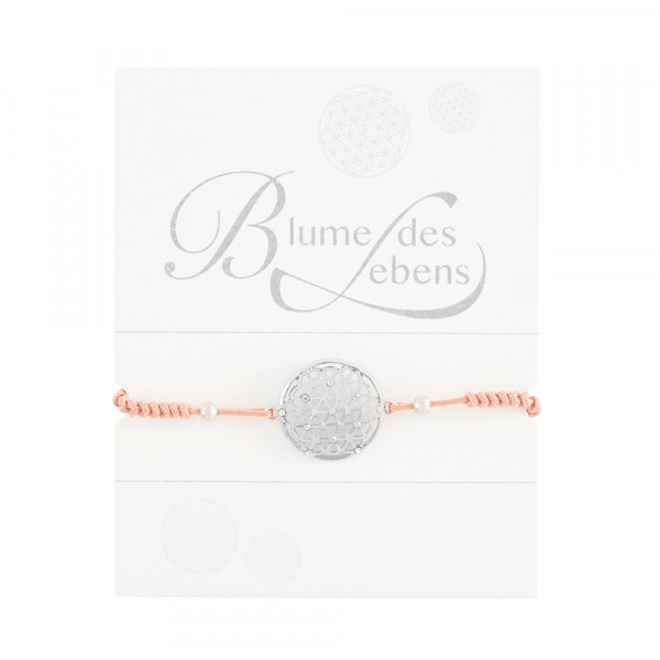 "Knotted Bracelet ""Flower Of Life"""