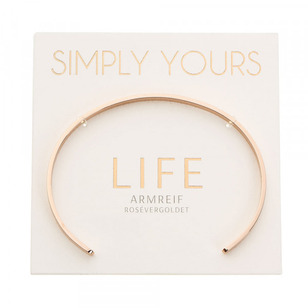 Bangle - Simply Yours - Rosegold-Plated - Life