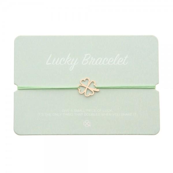 Lucky Bracelet - Cloverleaf