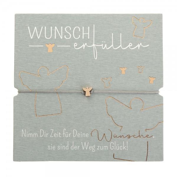 Armband - Wunscherfüller - Schutzengel - rosévergoldet