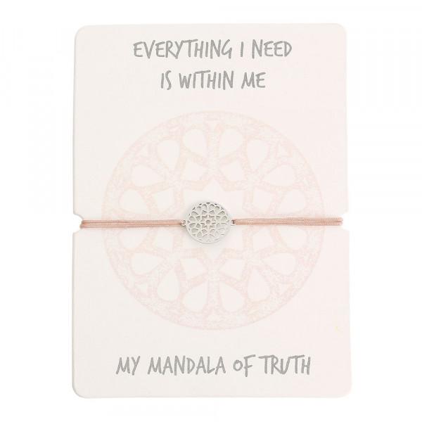 Bracelet - Mandala Of Truth - Stainless Steel