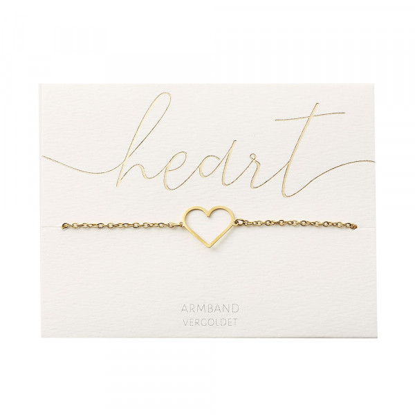 Bracelet - Gold Plated - Heart