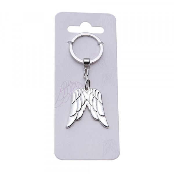 Key Chain - Double Angel Wing