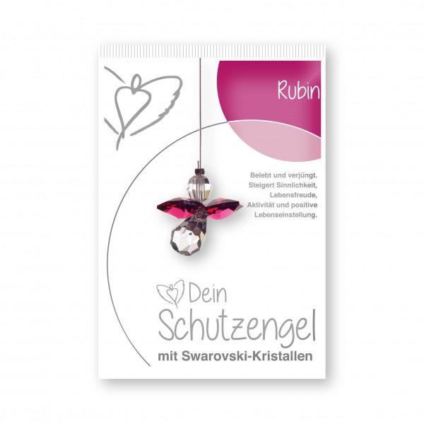 "Schutzengel ""Rubin""- im Blister"